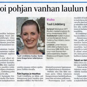 Tuulin laulajan koti on SG